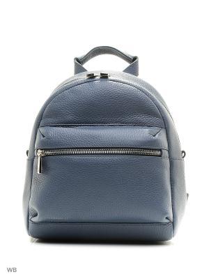 Рюкзак Afina. Цвет: серо-голубой