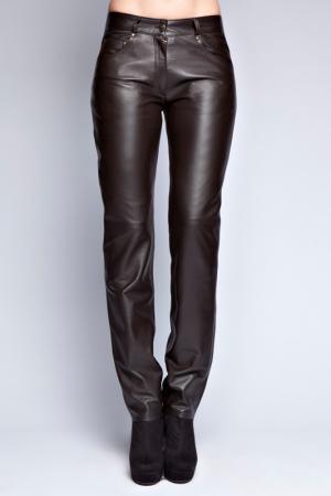 Pants John & Yoko. Цвет: dark brown
