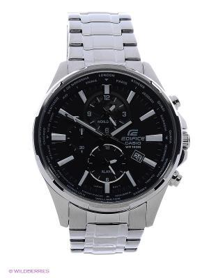 Часы EDIFICE EFR-304D-1A CASIO. Цвет: черный