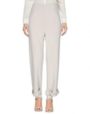 Повседневные брюки MAISON LAVINIATURRA. Цвет: светло-серый