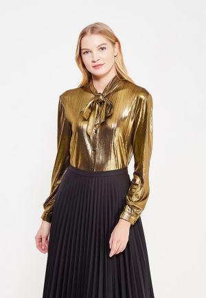 Блуза Fornarina. Цвет: золотой