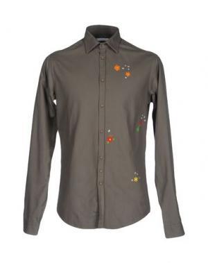 Pубашка AGLINI. Цвет: свинцово-серый