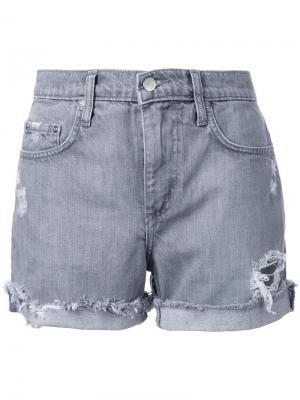 Джинсовые шорты Mondo Nobody Denim. Цвет: серый