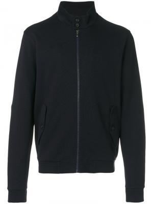 Легкая куртка на молнии Z Zegna. Цвет: синий