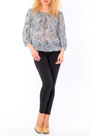 Блуза S&A style. Цвет: серо-молочный