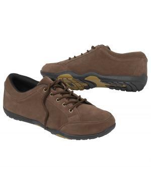 Замшевые Ботинки AFM. Цвет: коричневыи