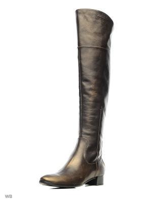 Ботфорты La Gatta. Цвет: коричневый, золотистый