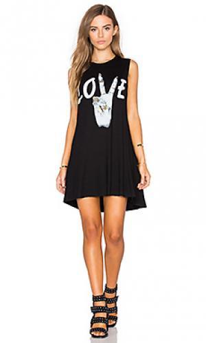 Платье deanna Lauren Moshi. Цвет: черный