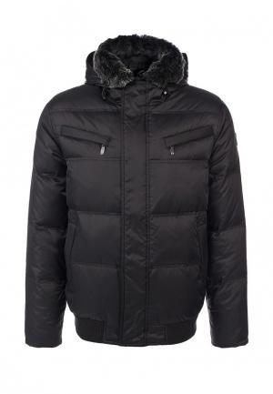 Куртка утепленная Hi-Tec. Цвет: черный