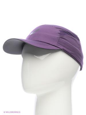 Бейсболка ESSENTIALS CAP ASICS. Цвет: темно-фиолетовый