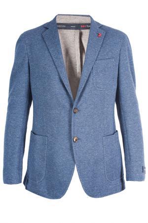 Пиджак Tombolini. Цвет: голубой