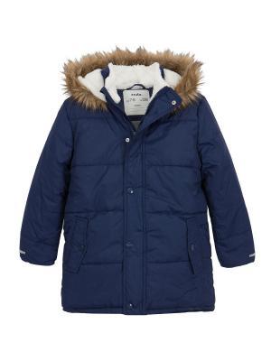Куртка зимняя Endo. Цвет: темно-синий