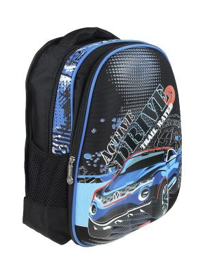 Рюкзак Olere. Цвет: черный, голубой, синий