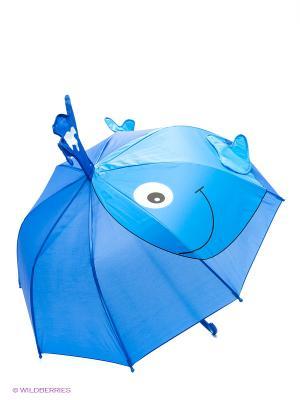Зонт детский  Кит 46см. Mary Poppins. Цвет: синий