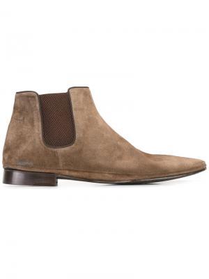 Ботинки-челси Dorian Alberto Fasciani. Цвет: коричневый