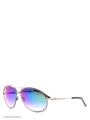 Солнцезащитные очки Iceberg. Цвет: серебристый