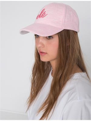 Бейсболка KOTON. Цвет: розовый