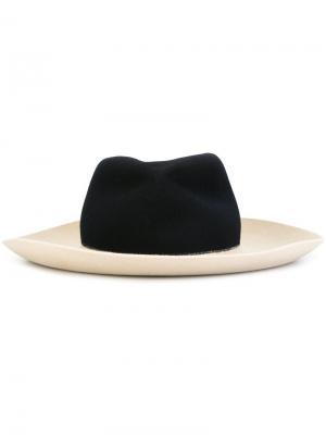 Широкополая шляпа Forte. Цвет: телесный