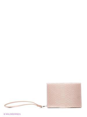 Сумка Reserved. Цвет: бежевый, бледно-розовый