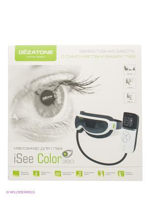 Массажер для глаз iSee380 Gezatone. Цвет: серый