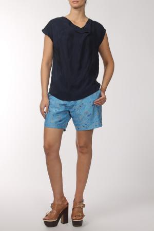 Блуза Roksanda Ilincic. Цвет: синий