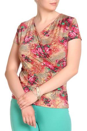 Блуза LOLA PALTINGER. Цвет: цветной