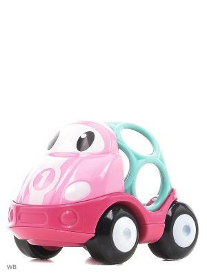 Машинки Только вперед! Гоночная (розовая) Oball. Цвет: розовый