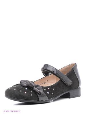 Туфли Bagira. Цвет: серый, черный