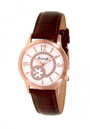 Часы Romanoff. Цвет: бордовый