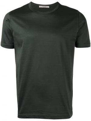 Классическая футболка  La Fileria For Daniello D'aniello. Цвет: зелёный