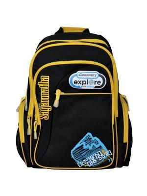 Рюкзак DISCOVERY Action!. Цвет: желтый, черный