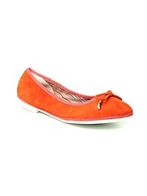 Балетки MILANA. Цвет: оранжевый