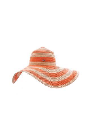 Шляпа Marc&Andre. Цвет: оранжевый, молочный