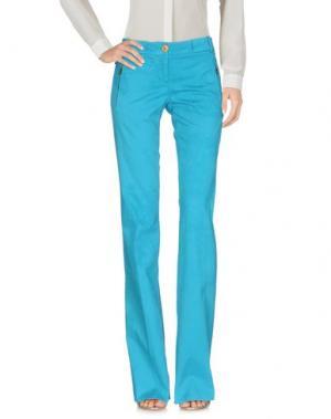 Повседневные брюки WEBER. Цвет: лазурный