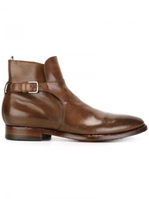Ботинки Princeton Officine Creative. Цвет: коричневый