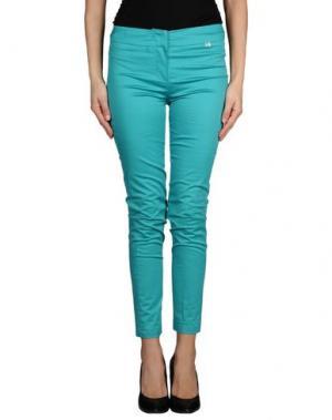 Повседневные брюки GIORGIA & JOHNS. Цвет: бирюзовый