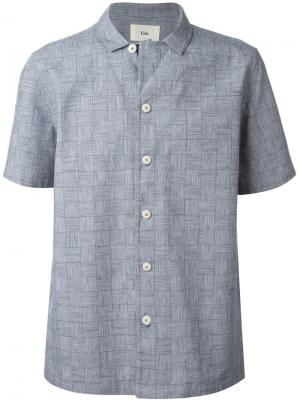 Рубашка New Piano Folk. Цвет: синий