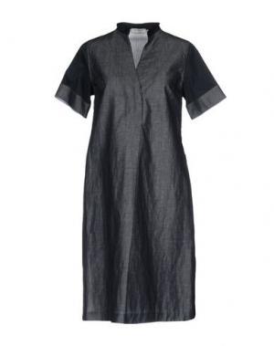 Короткое платье ROSSO35. Цвет: темно-синий
