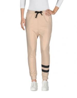 Повседневные брюки LE VOLIÈRE. Цвет: бежевый