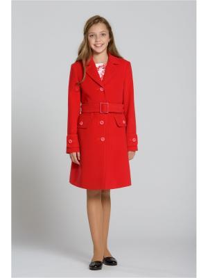 Пальто Stillini. Цвет: красный