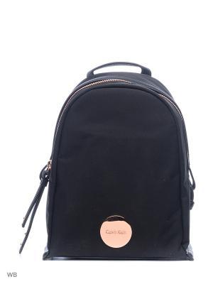 Рюкзак Calvin Klein. Цвет: черный