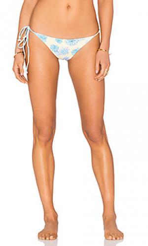 Низ бикини jess Tori Praver Swimwear. Цвет: желтый