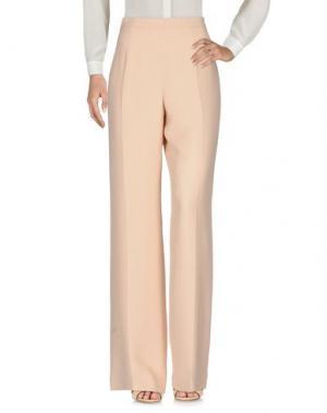 Повседневные брюки GAI MATTIOLO. Цвет: песочный