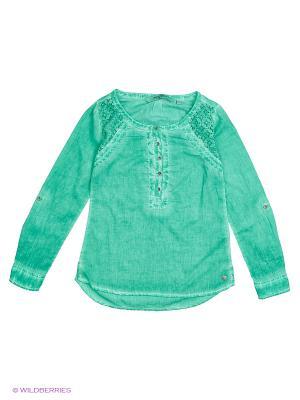 Блуза GARCIA. Цвет: светло-зеленый