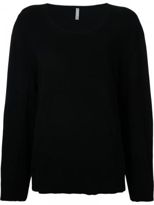 Panelled sweatshirt Boboutic. Цвет: чёрный