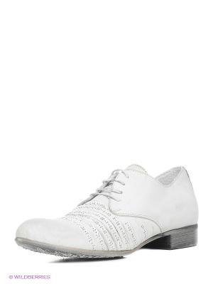 Туфли CAFeNOIR. Цвет: светло-серый