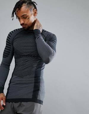 Craft Черный лонгслив Sportswear Active Intensity 1905337-999985. Цвет: черный