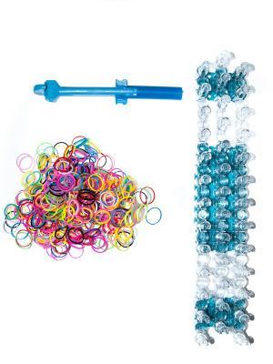 Резинки для поделок и причесок Bizon. Цвет: синий, зеленый, голубой, малиновый, красный, персиковый, желтый