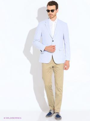 Пиджак Tommy Hilfiger. Цвет: голубой