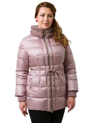 Куртка Clasna. Цвет: розовый